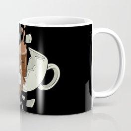 Coffee Shock - Funny Coffee Bean Gifts for Coffee Lovers Coffee Mug