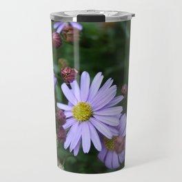 Light Purple Flowers Travel Mug