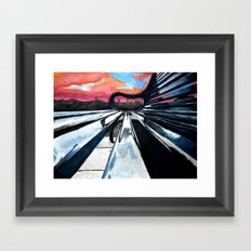 Look at it This Way Framed Art Print