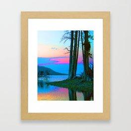 Lake of Dreams Framed Art Print