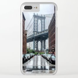 DUMBO, Brooklyn NY Clear iPhone Case