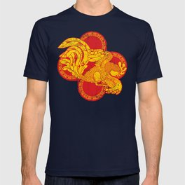 Rooster fire T-shirt