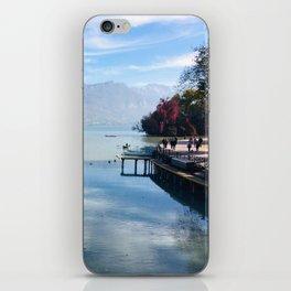 Lake Annecy iPhone Skin
