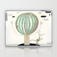 Knock Knock Knock-Tree Laptop & iPad Skin