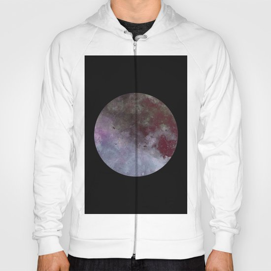 Lonely planet - Space themed geometric painting Hoody