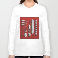 kakashi Long Sleeve T-shirts featuring aktsuki by Daniel Sangil