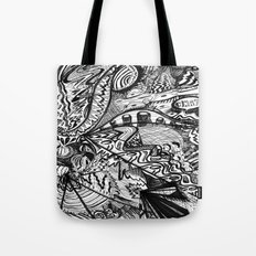 BLACK THOUGHTS  Tote Bag