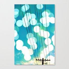 Electrical Enlightment Canvas Print