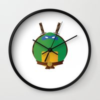 leonardo Wall Clocks featuring Leonardo by East Atlantic Design