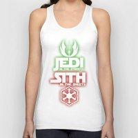 jedi Tank Tops featuring Jedi by Liquidsugar
