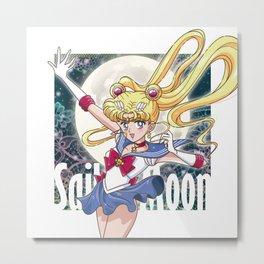 Sailor Moon Metal Print