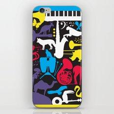Jazz Zoo iPhone & iPod Skin
