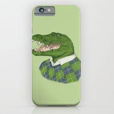 Argyle Crocodile iPhone 6s Slim Case
