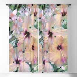 Vintage Tropical Blackout Curtain