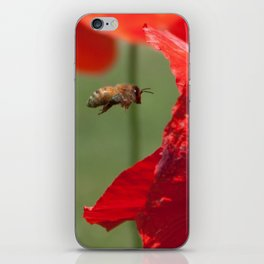 The Levitating Bee iPhone Skin