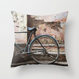 Bone Shaker Throw Pillow