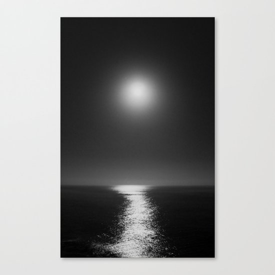 Moonlight Mist Canvas Print