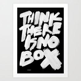 NOBOX Art Print