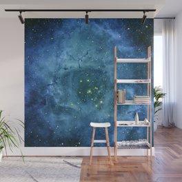 Nebula and stars Wall Mural