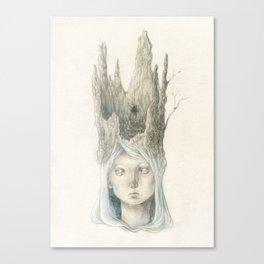 Woodlandprincess Canvas Print