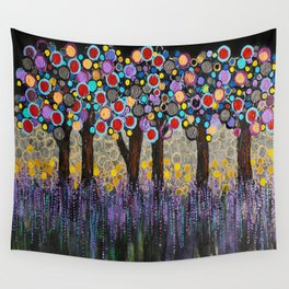 :: When Night Falls :: Wall Tapestry