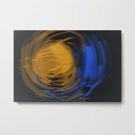 Abstract - ब्रह्माण्ड Brahmand Metal Print