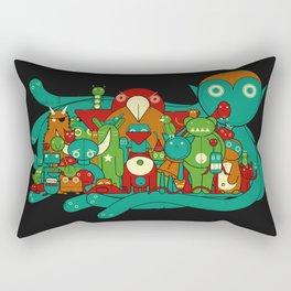 The Watchers Rectangular Pillow