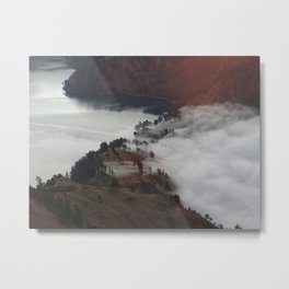 Creeping mist Metal Print