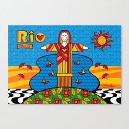 Cristo Rio Canvas Print