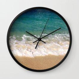 Cayman Waves Wall Clock
