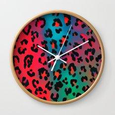 Diaz Leopard Wall Clock