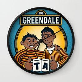 Greendale Street Wall Clock