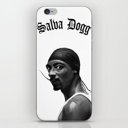 Salva Dogg iPhone Skin