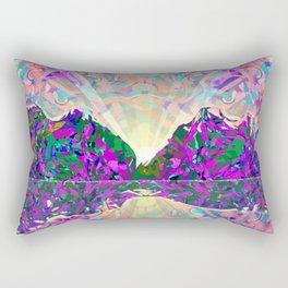 Northern Landscape Rectangular Pillow