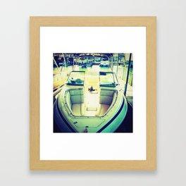 Bodacious Boating  Framed Art Print