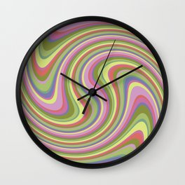 Twist and Shout-Fairytale colorway Wall Clock