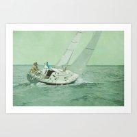 sail Art Prints featuring Sail by Mary Kilbreath