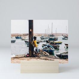 Boy | Africa Series | Sal Culture Photography Mini Art Print