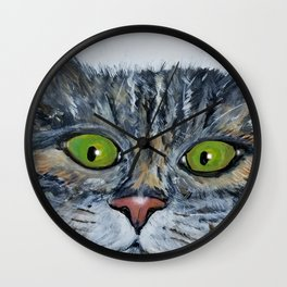 Watching You Wall Clock