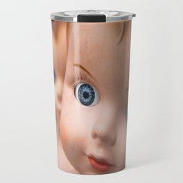 Baby Blue Eyes Travel Mug