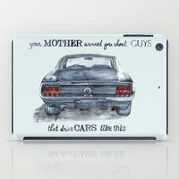 mustang iPad Cases featuring Mustang by dareba