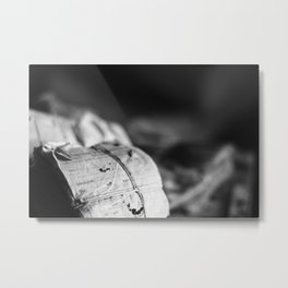 Worklogs Metal Print