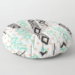 Tribal feather Floor Pillow