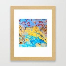 spring in janurary Framed Art Print