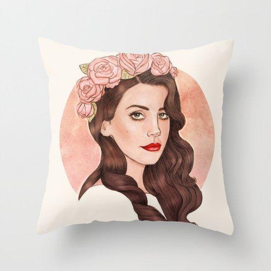LDR IV Throw Pillow
