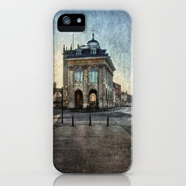 The Town Hall At Abingdon iPhone Case