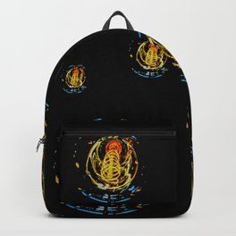 The Electric Current:  Filament Lights Backpack