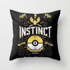 An Instinctual Decision Throw Pillow