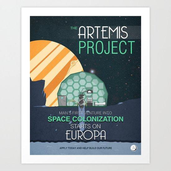 The Artemis Project Art Print