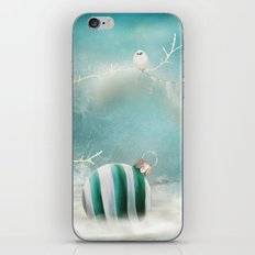 Minimal Christmas iPhone Skin